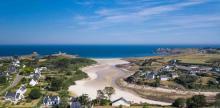 Prise de vue aérienne par drone en Pays Basque