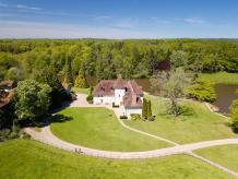 Prise de vue aérienne par drone pour agence immobilière dans l Indre