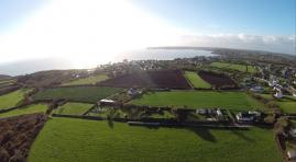 Photo de Bretagne, prise de vue aérienne paysage breton