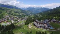 Prise de vue par drone de paysages