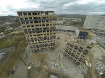 Prises de vue aérienne chantier photographier par drone