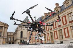 Prises de vues aériennes par drone sur paris