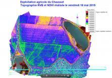 Réalisation d un traitement numérique d images de type NDVI exploitation agricole