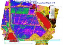 Réalisation d un traitement numérique d images de type ndvi par drone dans l'agriculture