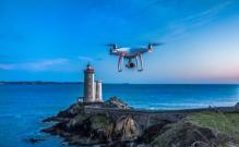 photo de drone pour prise de vue aérienne