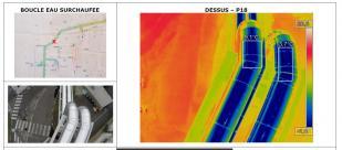 Repérage source chaleur par thermographie aérienne