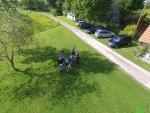 Reunion de famille photographier d un drone