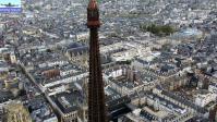 Rouen vu du ciel par drone