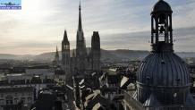 Rouen vu par un drone
