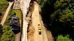 Suivi de chantier en photo aérienne par drone par pilote de Limoges