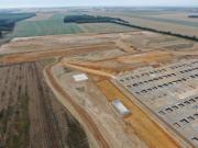 Suivi de chantier en vue aérienne par drone