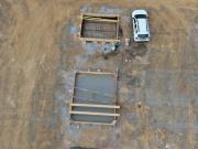 Suivi de chantier en vue aérienne par drone travaux de terrassement