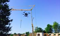 Suivi de chantier par drone dans les pyrènes atlantiques
