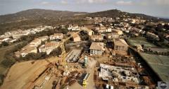 Suivi de chantier photo par drone
