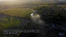 Surveillance aérienne d'incendie par drone