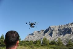 Telepilote de drone en auvergne