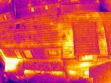 Prestations techniques thermographie aérienne de maison par drone