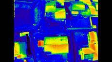 Thermographie infrarouge par drone