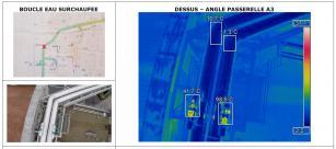 Thermographie par drone de canalisations