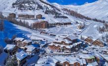 Val d Allos en vue aérienne par drone