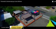 Vidéo publicitaire avec vues aériennes par drone