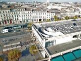 Ville de Bordeaux photographiée par un drone