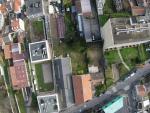 Ville vue du ciel par un drone
