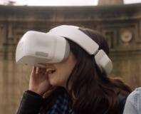 Vol en immersion par drone avec lunette de réalité virtuelle