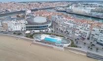 Vue aérienne de bien immobilier par drone sur Nantes