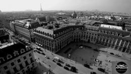 Vue aérienne de Paris photographie de la place Vendôme