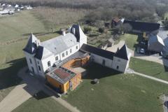 Vue aérienne par drone Nantes