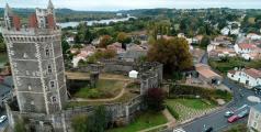 Vue aérienne par drone a Cholet
