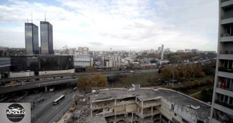 Vue aérienne par drone Bagnolet Seine Saint Denis