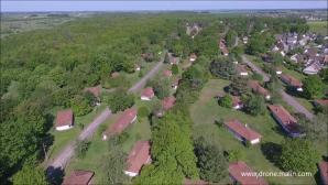 Vue aérienne par drone cite Lafayette Evreux