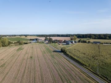 Vue aérienne par drone Pays de la Loire