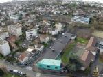 Vue d ensemble d une ville photographier d un drone