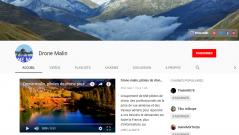 YouTube, Drone-malin